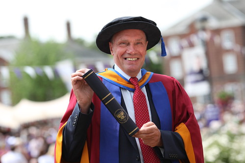 Malcolm Brown MBE awarded Honorary Doctorate of Sport Science