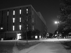 Wright State at Night - 051