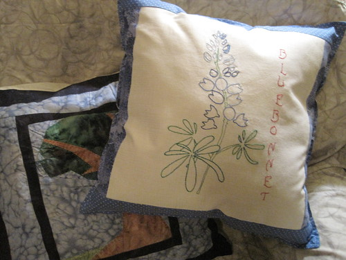 Bluebonnet Pillow