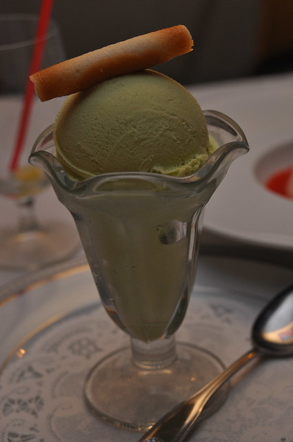 Sesame Grill- Arcadia, CA: Green Tea Ice Cream