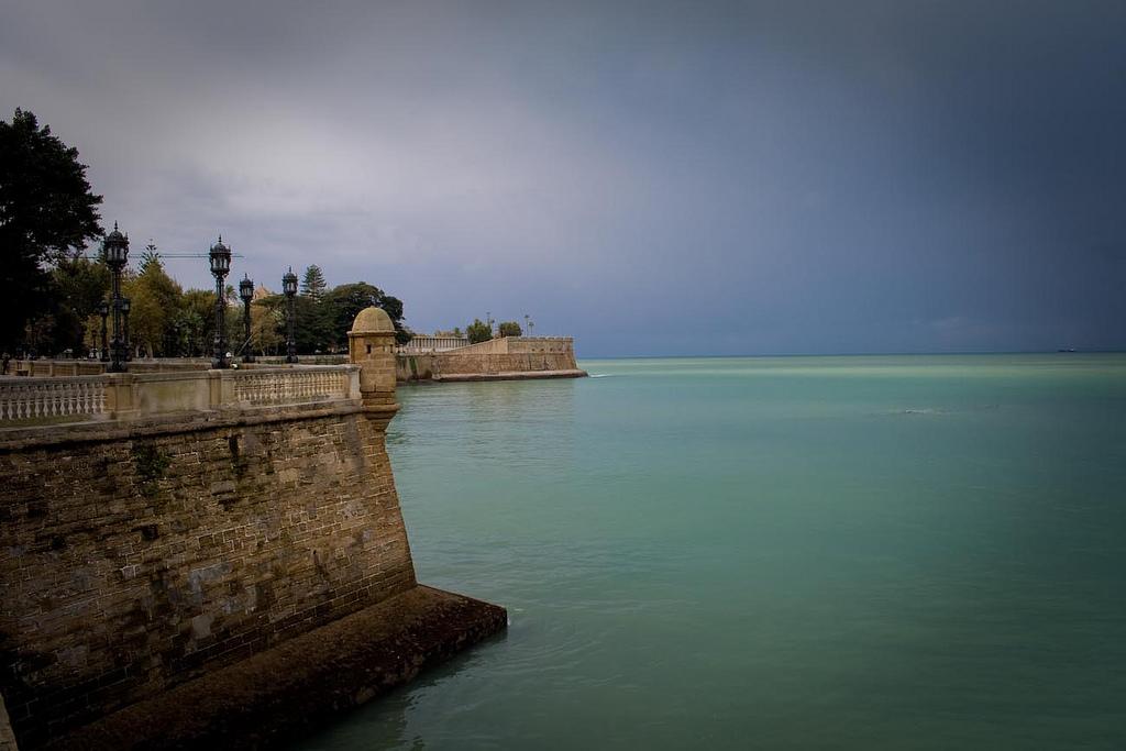 Cádiz tras la tormenta. Autor, Felix Bernet
