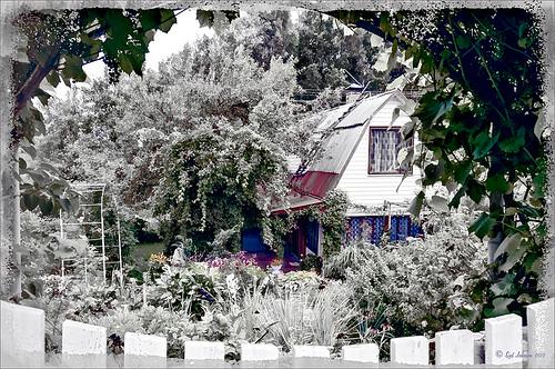 Hidden Dacha in Belarus using Topaz ReStyle filter