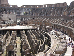 amphitheatre(0.0), sport venue(0.0), bullring(0.0), mecca(0.0), city(0.0), stadium(0.0), ancient history(1.0), landmark(1.0), ancient rome(1.0), aerial photography(1.0), arena(1.0),