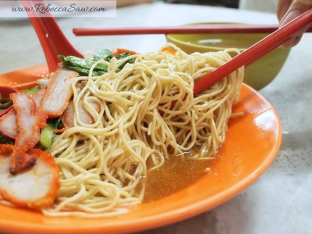 Wan Tan Mee, besides oyster omelette bunga raya melaka-004