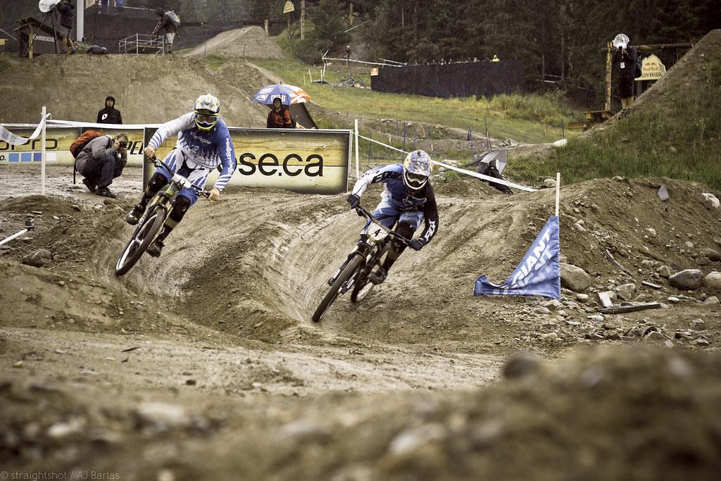 Brendon Fairclough and Marcelo Guiterez race