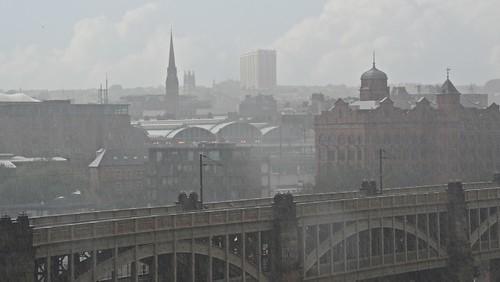 Newcastle rain