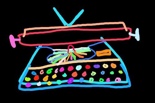 Typewriter doodle #1