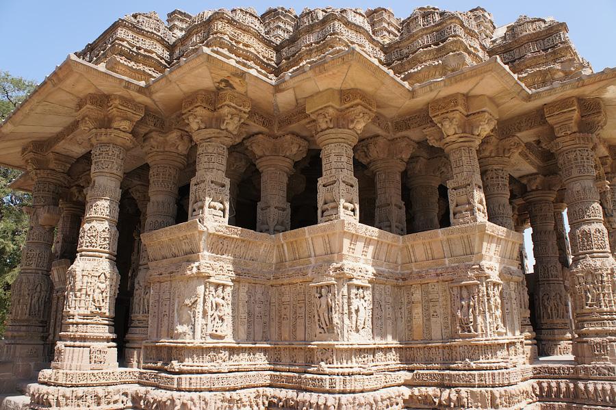 Храм Солнца (Сурьи), Модхера, Гуджарат, Индия © Kartzon Dream - авторские путешествия, авторские туры в Индию, тревел фото, тревел видео, фототуры