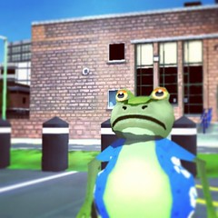 Amazing Frog by Courthouse