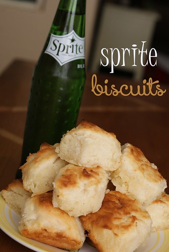 Vintage Sprite and Biscuits by Heather Says