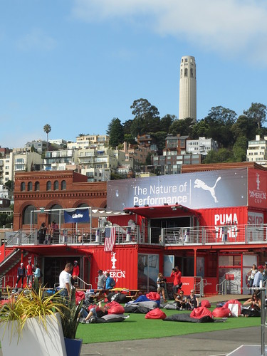 America's Cup & Coit Tower