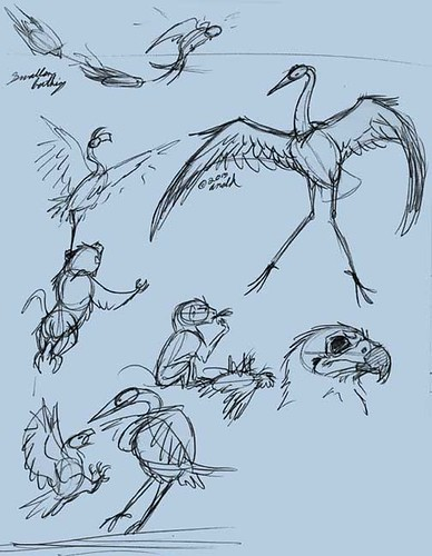 "9.26-27.13 - ""Earthflight"" Sketches"