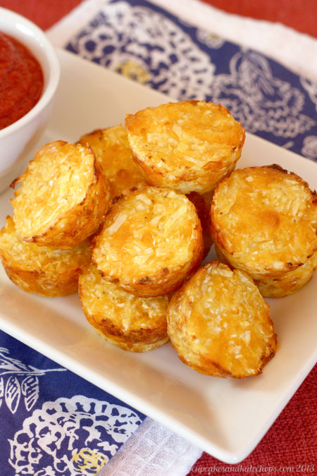 Baked Cauli-Tots - move over tater tots, there's a healthier and veggie-packed new side dish in town! This is our family favorite, plus get my pro tips for perfect cauliflower tots!   cupcakesandkalechips.com   gluten free, vegetarian