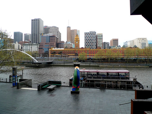 Along the Yarra River, Melbourne