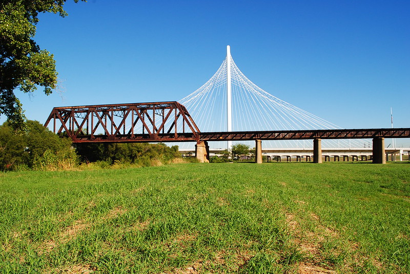 1930 Texas & Pacific Railroad Bridge over Trinity River, Dallas, Texas 1309301027