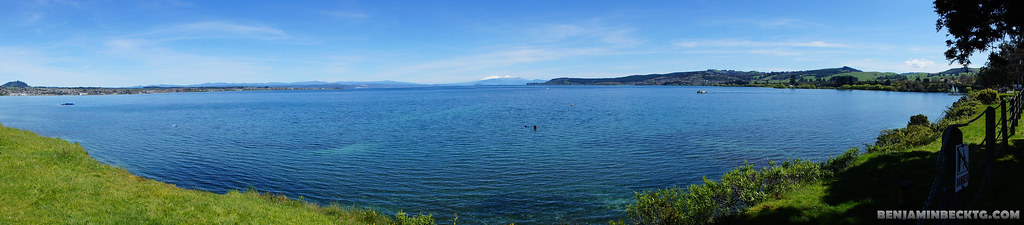 Lake Taupo Panorama