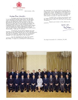 Letter from Prince Philip and Photo