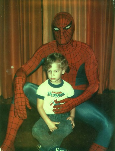 Young Mikey & Spiderman