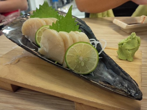 Tairagi Pen Shell Clam Sashimi