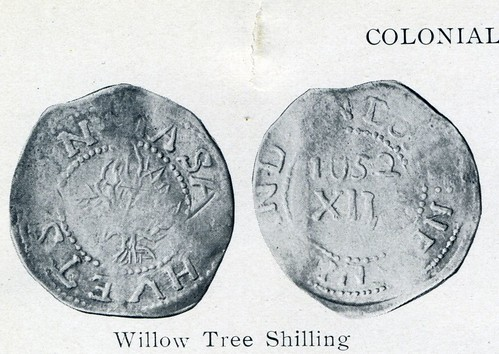 ANS 1914 plate 39 Henry Chapman Willow Tree Shilling crop