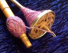 silk plying spindles SOAR