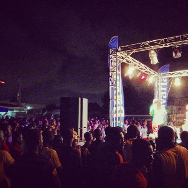 Bavaria Big In Ghana turns streets into massive party