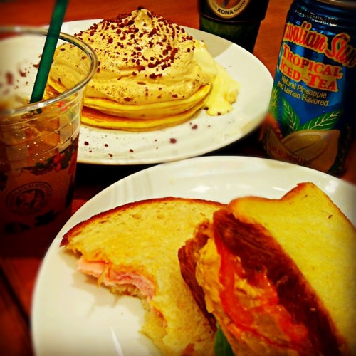Kona Coffee Cream Pancake