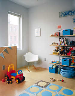 IKEA Shelves Playroom