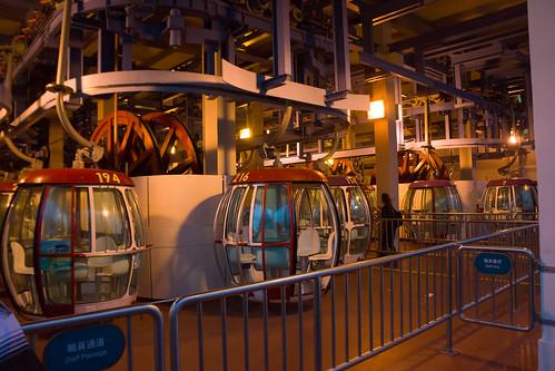 不搭纜車怎可以說去過海洋公園呢?