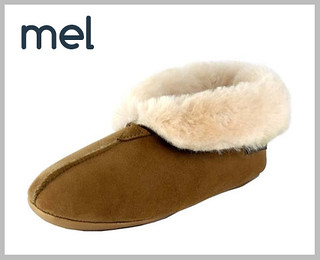Canterbury Sheepskin 'Mel' slippers