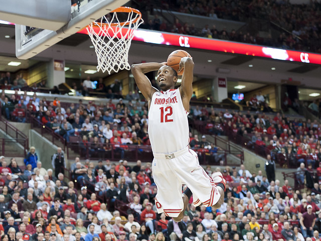 Ohio State University Guard Sam Thompson