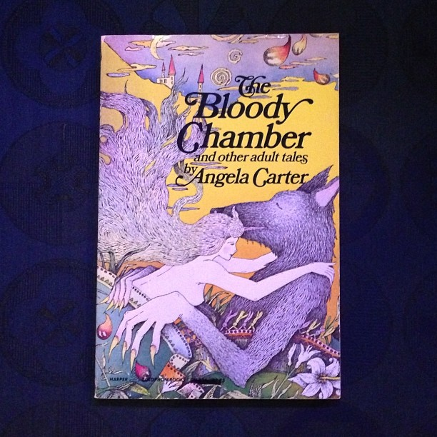 Hunting down a copy of The Bloody Chamber because I've lent all mine out! I'm reading The Erl King on Sunday for the Full Moon Language Story Circle on Sunday. Horribly tempted to buy this beautiful signed copy - but trying to warrant a $125 expenditure,