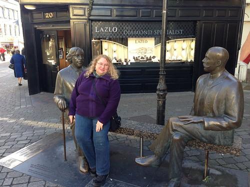 Oscar Wilde statue, Galway
