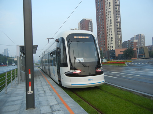 DSCN5156 _ Tram, Shenyang, China, September 2013
