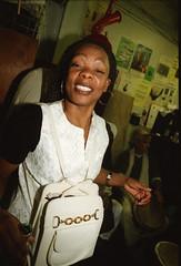 Chartwell Dutiro from Zimbabwe at the Africa Centre London Pela aka Pelagia from Malawi March 2000 044