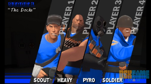 Team Fortress 2 Arcade clases