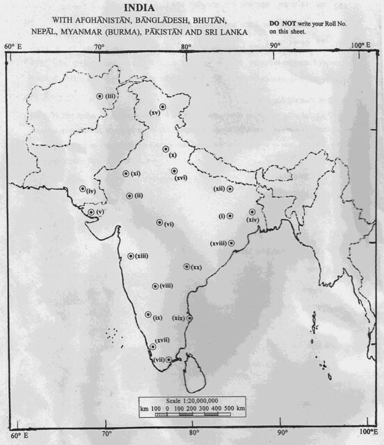 Download History Optional Subject Paper Of UPSC Civil - Japan map in hindi