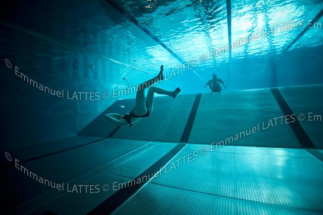 Nageurs pratiquant l 39 apn e en piscine bellerive sur for Bellerive sur allier piscine
