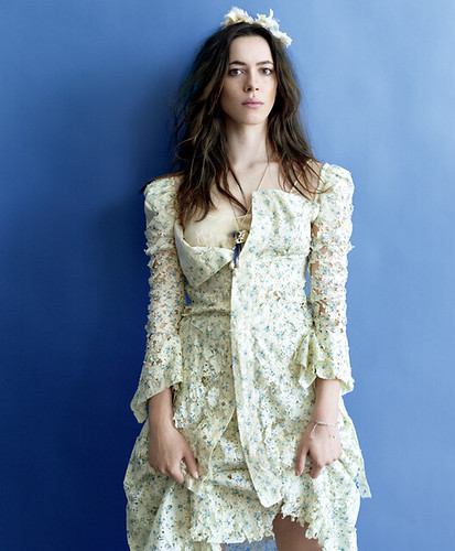 Rebecca Hall in Yohji Yamamoto | Hot Celebrity/ Model in White Dress