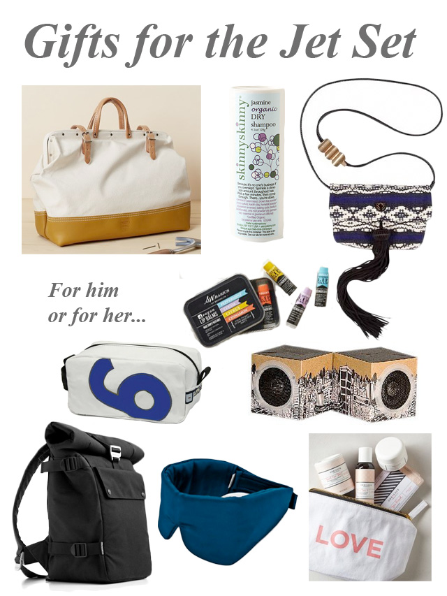 eco-friendly gifts for the jet set traveler for him or for her