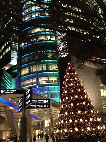 Christmas trees in Tokyo