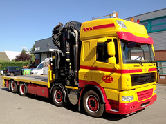 vehicle, truck, transport, trailer truck, land vehicle, emergency service,