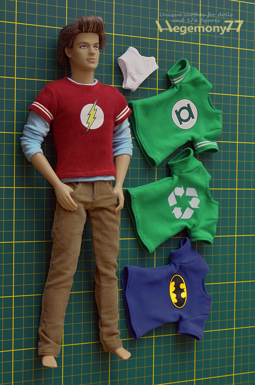 1/ 6 scale Sheldon Cooper - The Big Bang Theory inspired ...