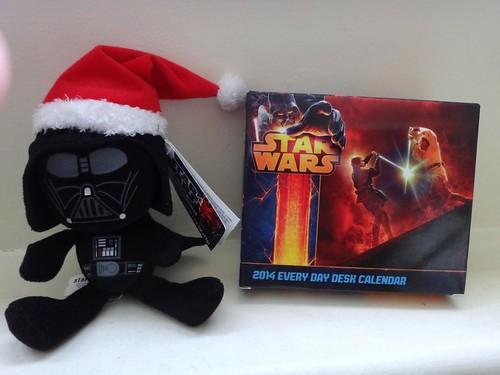 Star Wars Vader & Calendar