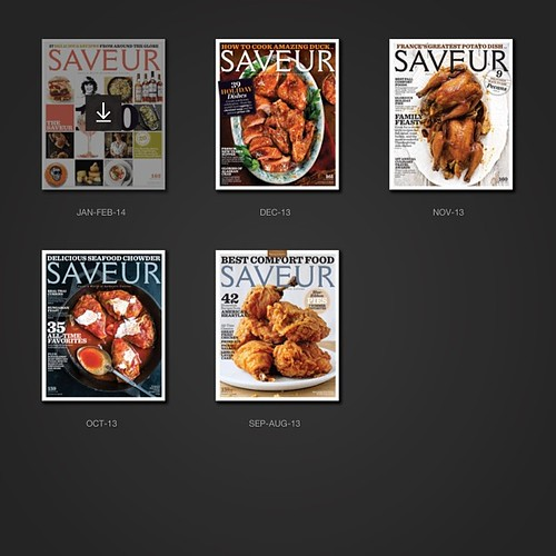 Have to giggle at the last few @saveurmag covers... It's like a duck-duck-goose game on steroids (chicken-chicken-turkey-duck to be exact ;D) #somebodylikespoultry