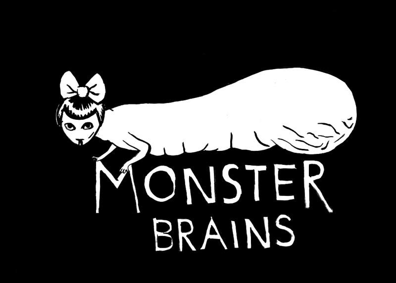 Aleksandra Waliszewska - Monster Brains Logo