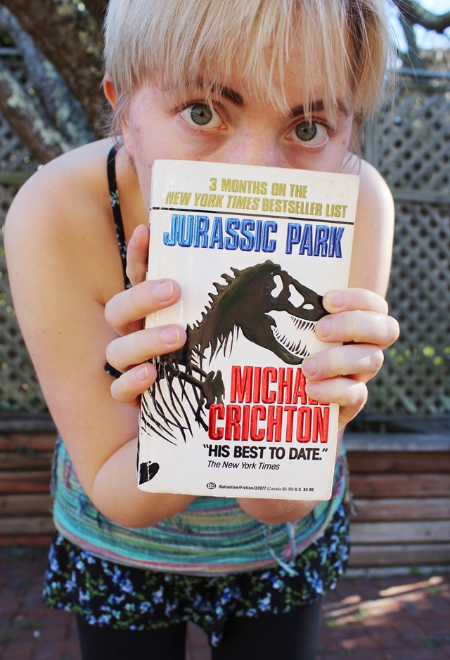 Jurassic Park by Michael Crichton - OOTD 1/18/2014