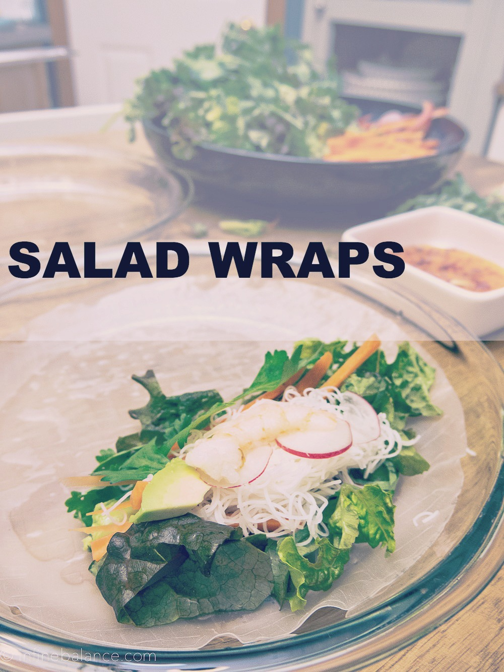 Fresh Salad Wraps