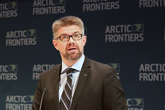 Icelandic Foreign Minister Gunnar Bragi Sveinsson