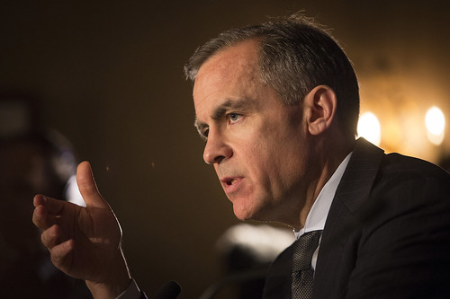 Mark Carney, Governor at the Scottish Council for Development & Industry, Edinburgh